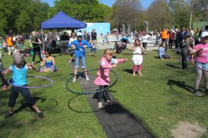 Hula hoop record attempt